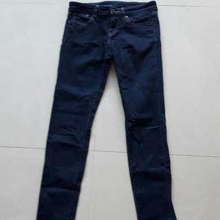 Uniqlo女大童牛仔褲 8號