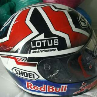 Shoel Full Face Redbull New..