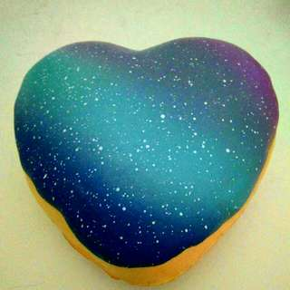 Creamiicandy Galaxy Donut Squishy