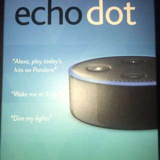 Echo Dot by Amazon with FREE Dowel flat iron