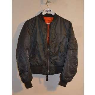 VTG Womens Alpha Industries Bomber jacket Size M