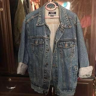 Jeans oversized jacket