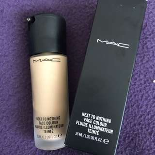 MAC Foundation Almost New Only Use  Once