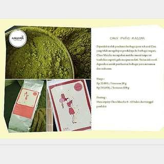 SOLD OUT- SALE! Matcha (Green Tea) Chun