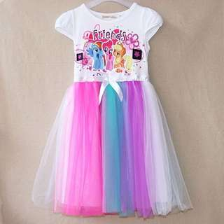 Little Pony Rainbow Dress