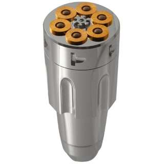 Universal Six Shooter Bullet Gear Knob
