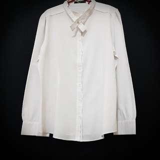 G2000 White Polo (chinese collar)