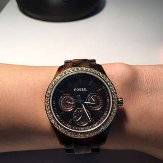 Women's Fossil Tortoiseshell Watch