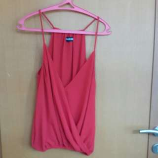 Red Cabe Tank Top