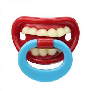 Funny Teeth Baby Boy Girl Infant Pacifier