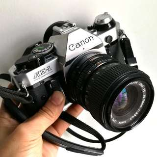 Canon AE-1 PROGRAM 35-70mm 3.5-4.5