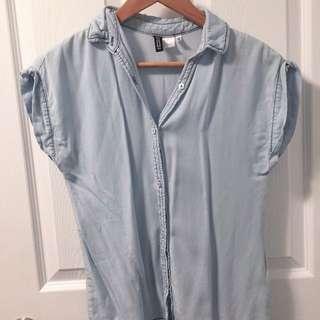 H&M Jean shirt size 2