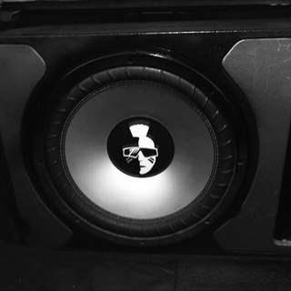 "Mohawk 12"" Subwoofer MS-124 Dual 4 Ohm w/Box"
