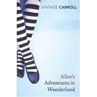Alice in Wonderland Vintage Classics Edition