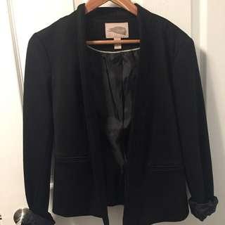F21 XS black blazer