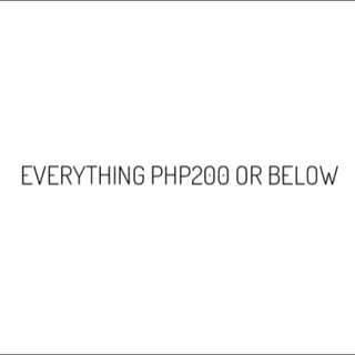 EVERYTHING IN MY PROFIEL PHP200 OR BELOW!!