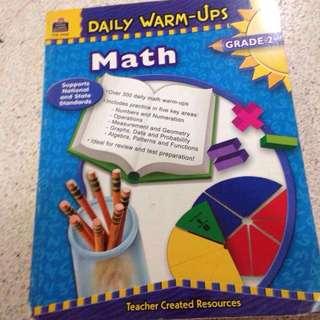 Math daily warm-ups