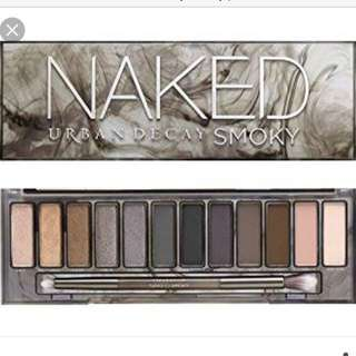 Urban Decay Smoky Naked Palette & FREE MECCA BAG