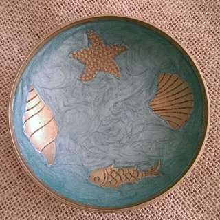 Oceanic Bronze Small Bowl