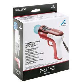 PS3 Move Gun Shooting Attachment