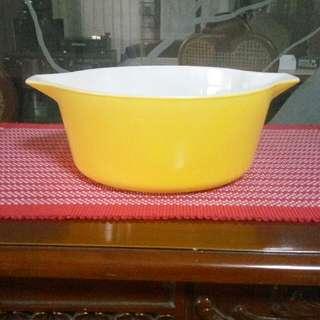 Yellow Casserole Dish