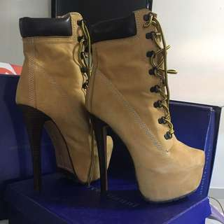 Authentic Timberland heels