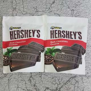 Hershey's Dark Chocolate Cookies