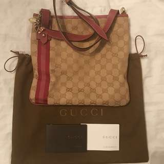 Collectors Gucci Cross Body Bag