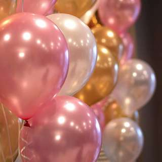 Plain Round Balloons (5 inches)
