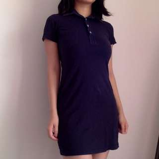 American Apparel Polo Dress