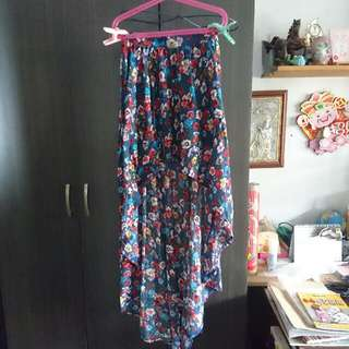 Supre Floral Fishtail Skirt