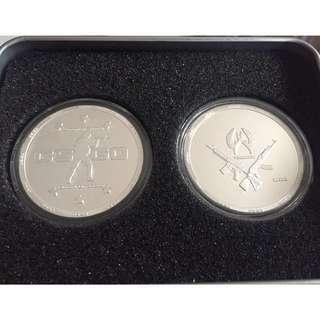 CSGO 鍍銀 紀念幣