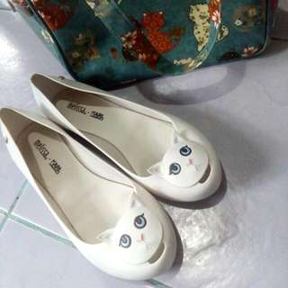 *Pay Day Sale* Authentic PL Melissa - Karl Lagerfeld Ultragirl Cat In White