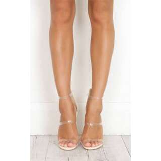 Bilini Nadia nude heels - brand new