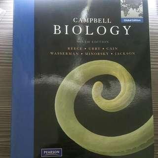 生物Campbell第九版 英文版 #教科書出清