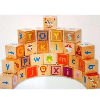Alphabet Building Blocks