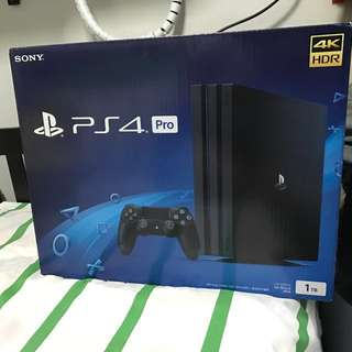 BRAND NEW PS4 PRO 1TB *RESERVED*