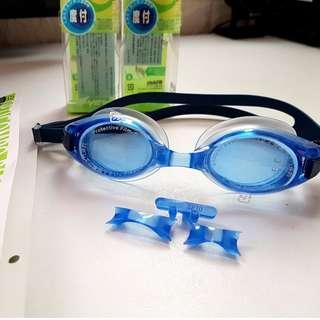 VIEW日本製泳鏡配件皮帶套件專用光學鏡片蛙鏡易拆裝設計視差OK超取免運請私