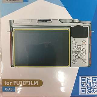 Fujifilm Xa3 Screen Protector w/ free cleaning cloth
