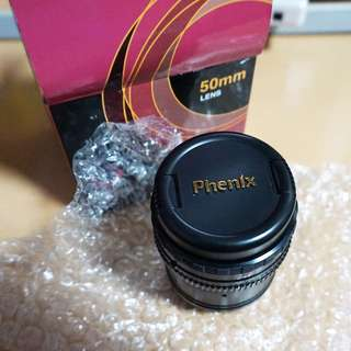 PHENIX 50mm Manual Full Frame Lens