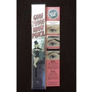 BENEFIT GOOF PROOF BROW PENCIL CHOOSE SHADE BRAND NEW & AUTHENTIC (NO OFFERS)