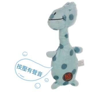 Toys球 🐶  CharmingPet狗狗毛絨耐咬磨牙發聲療癒玩具-小鱷魚現貨🙆🏻