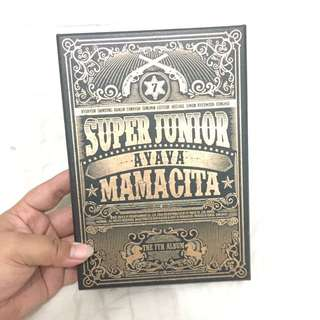 SUPER JUNIOR 7JIB - MAMACITA [ORIGINAL KOREA]