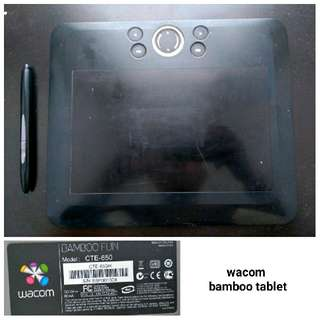 Wacom BAMBOO Tablet (Medium)