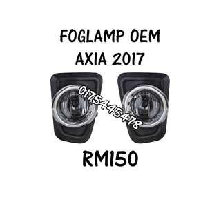 FOG LAMP ** AXIA **