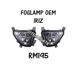FOG LAMP ** IRIZ **