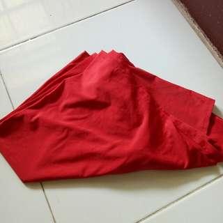jilbab instant merah