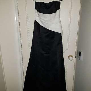 Custom made formal dress