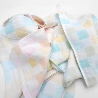 兒童格仔紗巾 (20元4條包平郵)