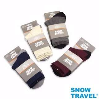 【SNOW TRAVEL】AR-59 // 高級美麗諾羊毛襪 // M 號 (1入)